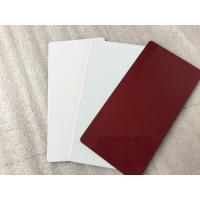 Wholesale NANO PVDF Paint Aluminium Composite Sheet Exterior Wall Finishing Materials from china suppliers