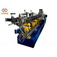 Wholesale Two Stages Twin Screw Extruder Machine For PVC Cable Shoe Sole Pelletizing SJSL 75B from china suppliers