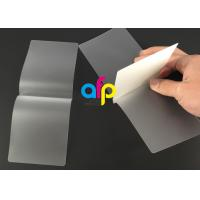 Wholesale Card Membrane Clear Laminating Film / Pouch Laminating Film with Different Thickness from china suppliers