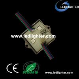 China 12V / 0.72W RGB Led Modules For Signs / Decoration LR-5050RGB3WA on sale