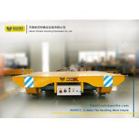 Quality Solid Railway Equipment Electric Flat Car for Material Transporting for sale