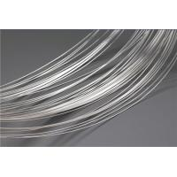 Buy cheap Soft Silver Plated Wire For Electrical Contacts / Nickel Plated Wire High Arc Erosion Resistance from Wholesalers