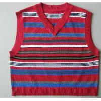 Wholesale Boy′s Stripe Vest, Cotton Sweater Knitted Vest (SFY-A088) from china suppliers