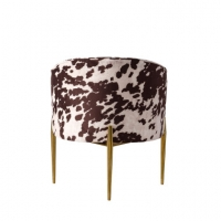 Wholesale Luxury Animal Prints 74*74*78cm Furniture Dining Room Chairs from china suppliers