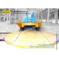 Wholesale Steel Industry Material Handling Turntable Rail Trolley Truck Turned Turnplate from china suppliers