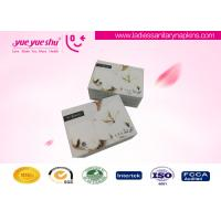 Wholesale Bio Herbal Medicated Lady Anion Napkin Pads White / Custom Color Available from china suppliers