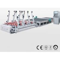 China Double Glazing Cnc Glass Cutting Machine with CE Certificated , SMC Valve on sale