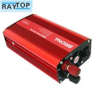 China Solar 800w Car Power Inverter Red Colour Auto Power Inverter With USB 5v 1A on sale