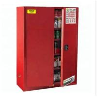 Buy cheap Durable Paint Storage Cabinets With Double Decked Fire Resistant Steel Plate from wholesalers