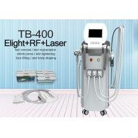 Buy cheap Bipolar RF OPT SHR E-light IPL Q Switched Nd Yag Laser Epilator Machine from wholesalers