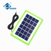 Buy cheap 6V solar panel photovoltaic ZW-3.5W for phone charger 3.5W Residential Solar from wholesalers