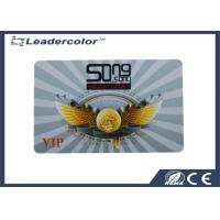 Wholesale HiCo Magnetic VIP Rewritable RFID Card Plastic 0.84 mm Custom Printing from china suppliers