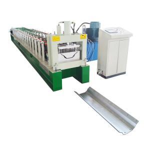 China Seamless Half Round Aluminium Gutter Machine For Run Copper Rain Pipe Spout on sale