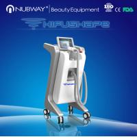 Wholesale Nubway 250Khz professional hifushape slimming machine for body from china suppliers