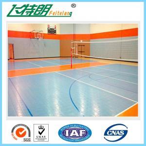 China Basketball Interlocking Rubber Floor Tiles PP Commercial Rubber Flooring on sale