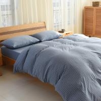 Wholesale Wholesale stripe all cotton bridal korean bedding set 4 pcs from china suppliers