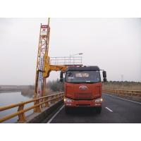 Buy cheap Truss Bridge Inspection Equipment FAW chassis 8x4 206KW 280HP , max span width 4m from Wholesalers
