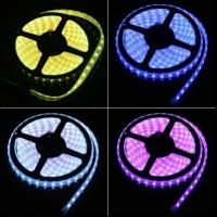 Wholesale SMD5050 300LED DC12V 14.4W/M non-Waterproof IP20 RGB LED strip light 60led/M from china suppliers