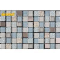 Wholesale Glossy Kitchen Mosaic Tiles For Backsplash Wall , CE Square Kitchen Tiles from china suppliers