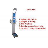 Wholesale Professional Height Weighing Scale With Body Fat Analyzer And Blood Pressure from china suppliers