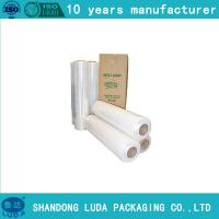 Wholesale 15micron*10cm*150m lldpe clear film stretch from china suppliers