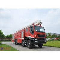 Wholesale IVECO Chassis Water Tower Fire Truck High Spraying 500mm Fording Depth from china suppliers