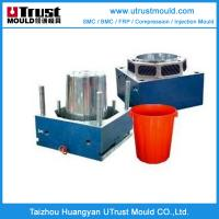 Quality Plastic pail mould injection molding maker plastic bucket molds maker in China for sale