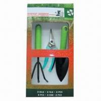 Wholesale Garden Tool Set, Made of Steel and Plastic from china suppliers