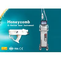 Wholesale Powerful Honeycomb Laser Tattoo Removal Machine / Pore Removal Laser CE Approval from china suppliers