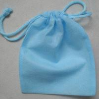 Wholesale Reusable Non Woven Drawstring Bag For Shopping / Packaging Custom Logo from china suppliers