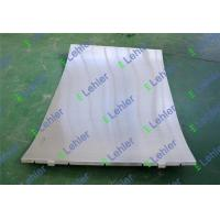 Starch Industry Wedge Wire Panel , Stainless Steel Sieve Screen 0.76*1.5mm