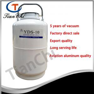 China 10L Liquid nitrogen storage tank factory direct sale 10L Liquid nitrogen storage tank on sale
