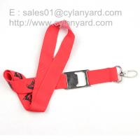 Wholesale Camping lanyard with metal bottle opener, hiking strap with metal beer opener, from china suppliers