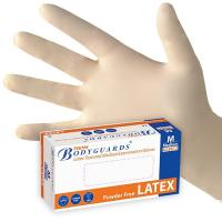 Wholesale 100% natural rubber latex disposable examination glove from china suppliers