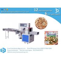 Wholesale Frozen handmade thick-soled pizza high speed automatic pillow type packing machine from china suppliers