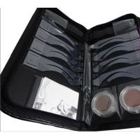 Wholesale quick drawing OEM 8 moulds Eyebrow Stenciling Kit with Leather Case from china suppliers