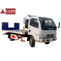 Wholesale Hydraulic Ramp Roll Off Tow Truck , Dongfeng Car Carrier Tow Truck Diesel Engine from china suppliers