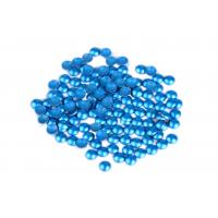 Round Shape Hotfix Dome Studs Aluminum Material For Shoes / Dresses