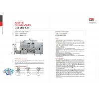 China PLS Aseptic Pouch Filling Machine For Plant Protein Beverages / Liquid Dairy Products on sale