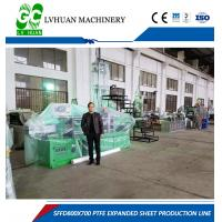 Wholesale Constant Calender Machine , Calendering Moulding Frequency Conversion Controlled Speed from china suppliers