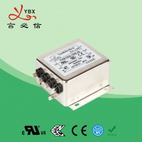 Buy cheap High Frequency 300Mhz UL1283 2250VDC 3 Phase EMI Filter from wholesalers