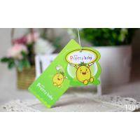 Wholesale Colorful Printed Hang Tags / Custom Labels For Baby's Garments Shose Toys from china suppliers