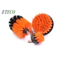 Wholesale 5 Inch Orange Rotary Nylon Brush For Drill , Floor Cleaning Shower Drill Brush from china suppliers