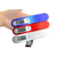 China Mini Size Portable Electronic Luggage Scale Lock Function For Suitcase Weighing on sale