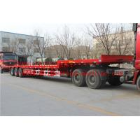Buy cheap 2 A X LES EQUIPMENT LOW BED TRAILER  28T Single speed 25TON/35TONS carry  construction machine from wholesalers