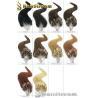Loop Mirco Ring Hir Extension Color 1 2 4 613 1g/pc 20 22 Keratin Loop Hair Extension for sale