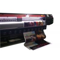10 Feet Eco Solvent Printing Machine For Printing Outdoor / Indoor Material