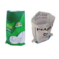 China Breathable 25Kg Woven Polypropylene Bags Superior Strength Feed Sack Bags on sale