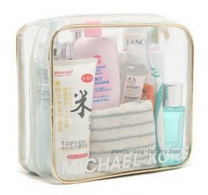China Custom girls make up kits EVA / PVC Clear cosmetic bag , 0.2-0.5mm on sale
