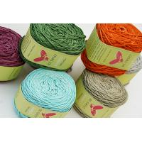China Bamboo yarn for knitting or weaving usage on sale